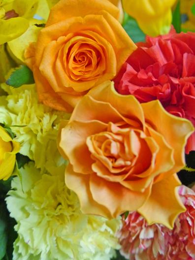 各種贈り物にぴったりの花束、アレンジメントをご紹介