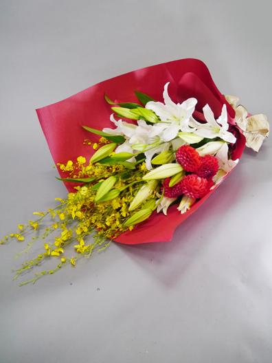 花束の一例です。